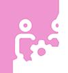 pinkcircle-whitesupport100x100